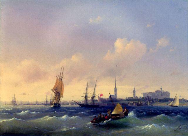 aivazovsky_-_reval_1845